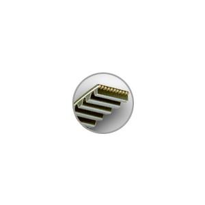 COURROIES CRANTEES / DENTEES HTD 14M (PAS 14 mm)
