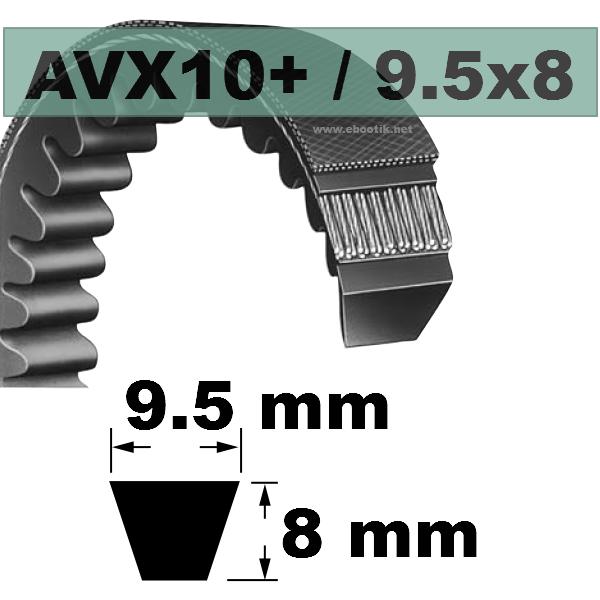 COURROIE AVX10x1725 mm La/Le Version +