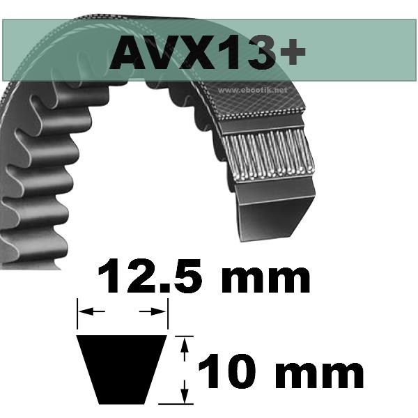 COURROIE AVX13x1250 mm La/Le Version +