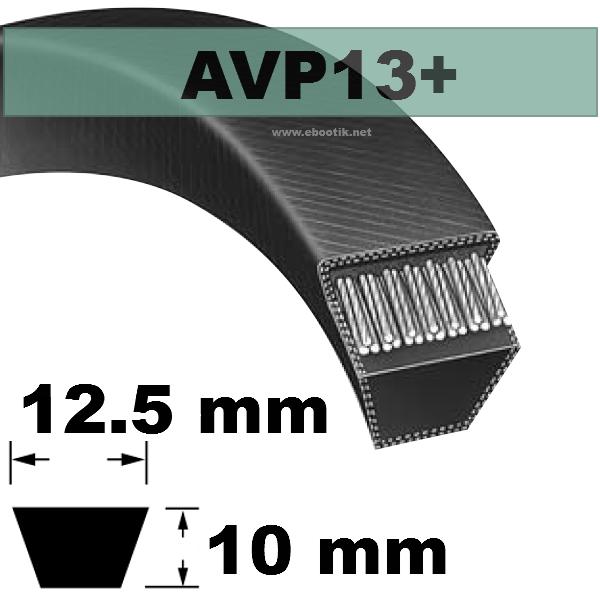 COURROIE AVP13x2550 mm La/Le Version +