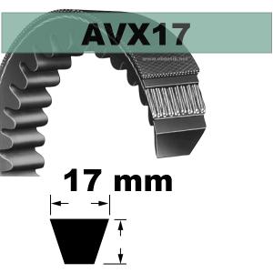 COURROIE AVX17x850 mm La/Le