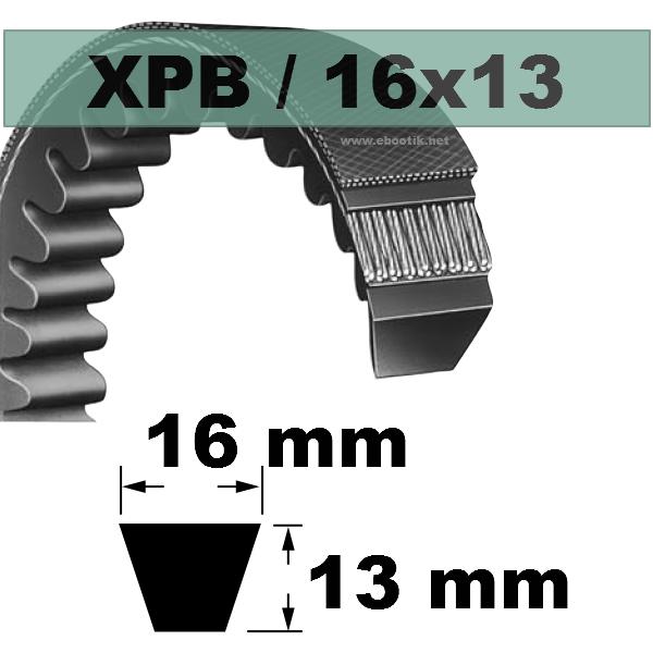 COURROIE XPB2040 AUTO SPECIALE AUTOMOBILE / POIDS LOURDS