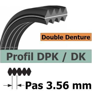 COURROIE 1237DPK6 Dents AUTOMOBILE