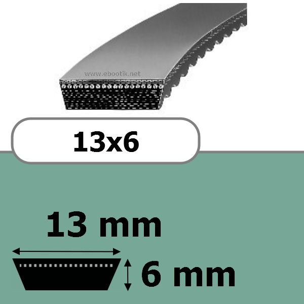 COURROIE VARIATEUR 13x6x1120